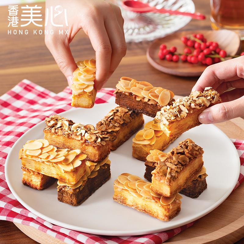 4.9分:香港 美心 果仁酥糕点礼盒 178g