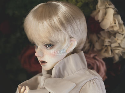 taobao agent Baby GUY spot bjd sd doll fake hair baby hair uncle hair milk pp soft silk wig 3 points male short hair