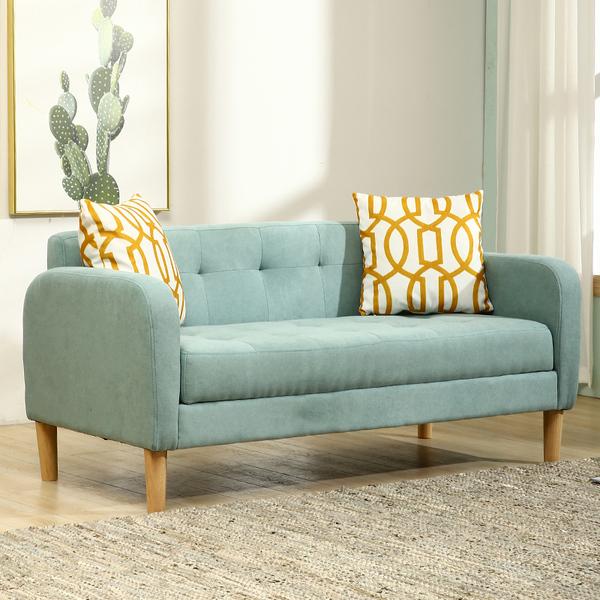 北欧布艺沙发客厅整装家具后现代简约小户型双人三人转角沙发组合