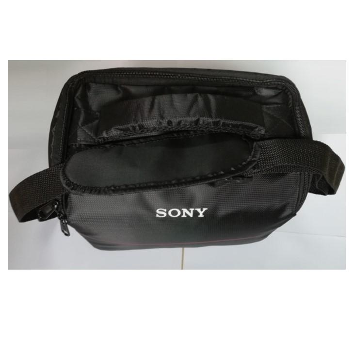 Máy ảnh chuyên nghiệp Túi SONY Sony DCR-HC37E DV Nhiếp ảnh Túi du lịch Một vai Casual Portable - Phụ kiện VideoCam