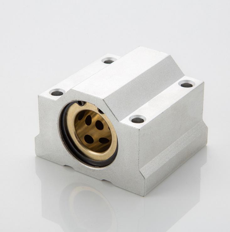 耐高温闭口式箱式铜套石墨滑块加长滑块SC25/30/16/20/35/40/50UU(图5)