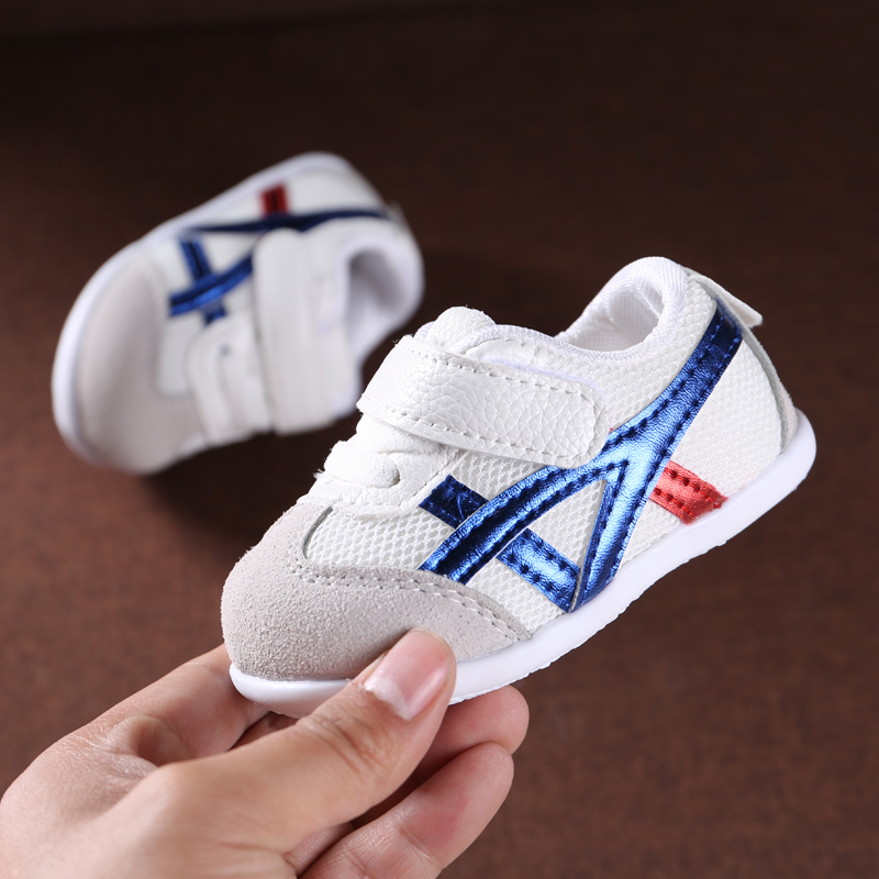 ebc1f537f0d73 New breathable mesh shoes spring and autumn baby shoes male 0-1 years old  baby toddler shoes soft bottom children s sports shoes 2