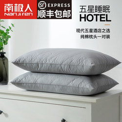 One Pair] Antarctic Pillow Pillow Simple Single Double Student Dormitory Child Care Cervical Spine Four Seasons General