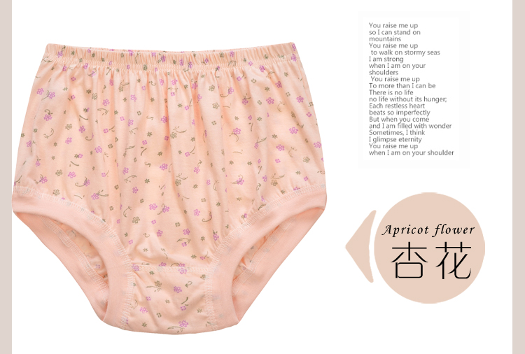 bb8104a49253 ... lightbox moreview · lightbox moreview. PrevNext. Middle-aged underwear  female cotton mother underwear elderly high waist large size loose shorts  ladies ...