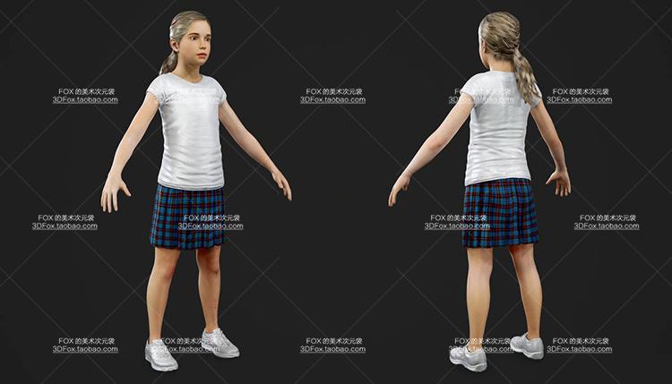 超高精度古墓丽影暗影3D次时代游戏角色模型PBR贴图游戏