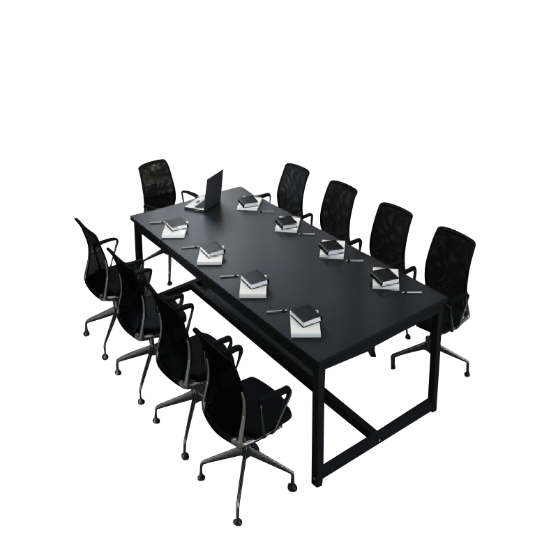 Large And Small Conference Table Long Table Simple Modern Training - Conference table width