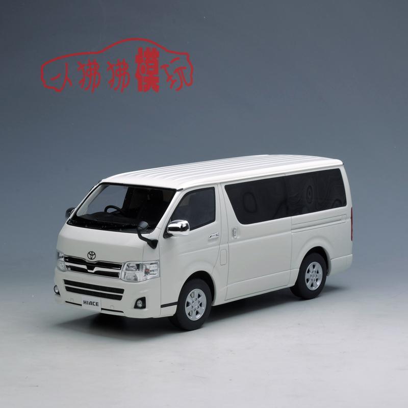 现货KYOSHO京商 树脂车1:18丰田 海狮Hiace面包车MPV仿真汽车模型