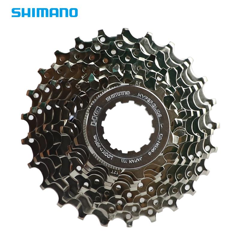 盒装飞轮SHIMANO禧玛诺公路车原厂9速自行车v飞轮件HG50行货12-25T