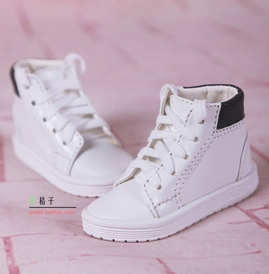 taobao agent New bjd baby shoes 3 points sd4 points msd baby board shoes salon Ye Luoli canvas shoes spot btl009 white