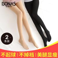 Артефакт легкого нога Боунаса замшевый Мягкие чулки для колготок колготки колготки женские осень демисезонный зима стиль в толстая