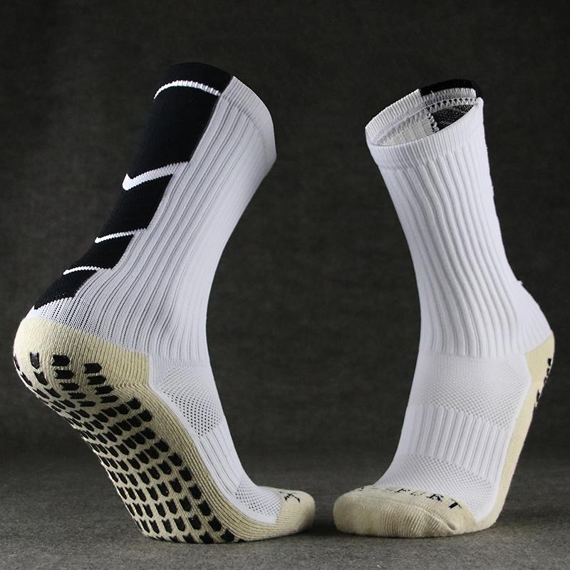 Стрелка принт Дорожные полотенца нижнего футбола тренировочные короткие носки нескользящие Сопротивление износу частиц утепленный спортивный мужской средние