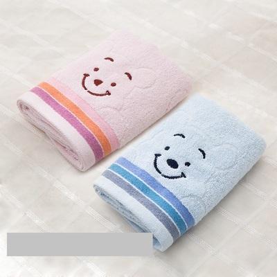 【两条装】全棉大号笑脸毛巾教师节礼物