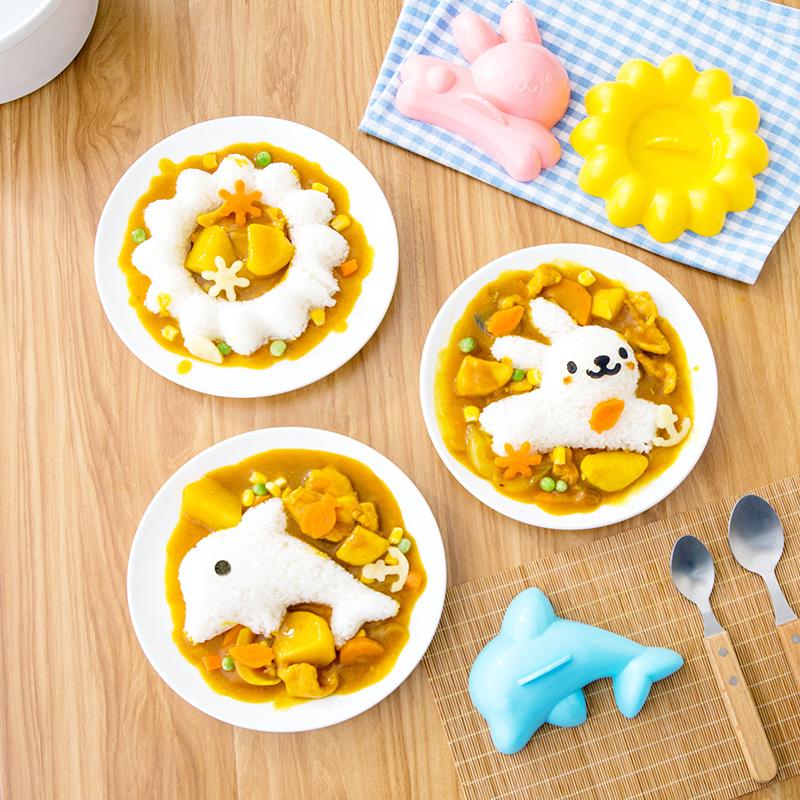 Домой домой рис группа плесень ребенок еда мультфильм про животных моделирование творческий кухня статьи завтрак метр рис мельница инструмент