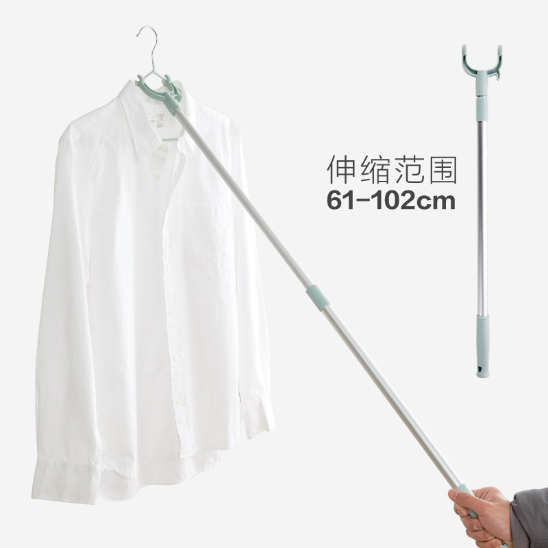 Home Retractable Clothes Fork Clothes Drying Rod Clothes Fork Clothes Fork  Clothes Drying Rod Fork Clothes Stick