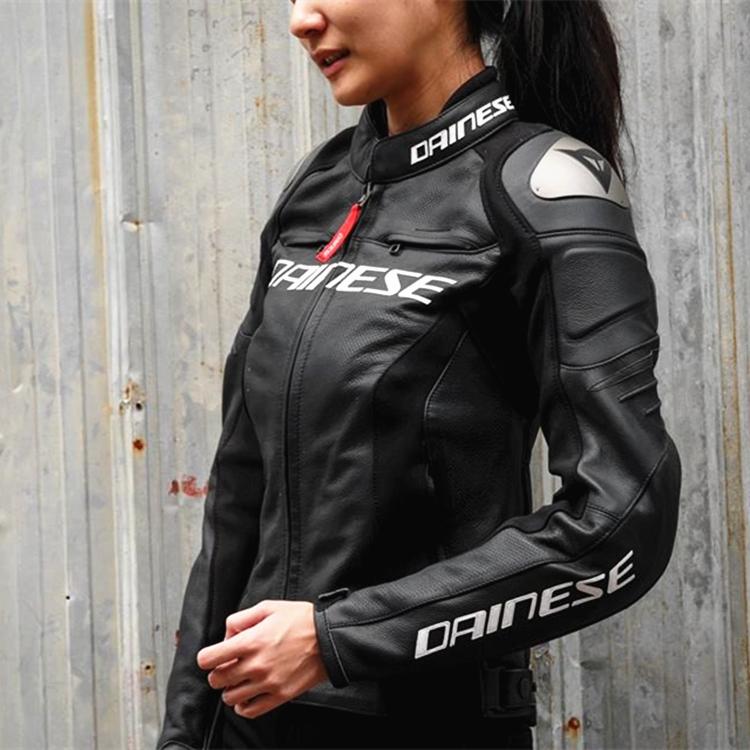 皮衣丹尼斯DAINESERACING3LADY女款女士摩托车v皮衣正品骑行服