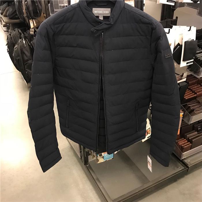 优代 Michael Kors/MK男士羽绒服羽绒夹克短款冬款外套 美国正品