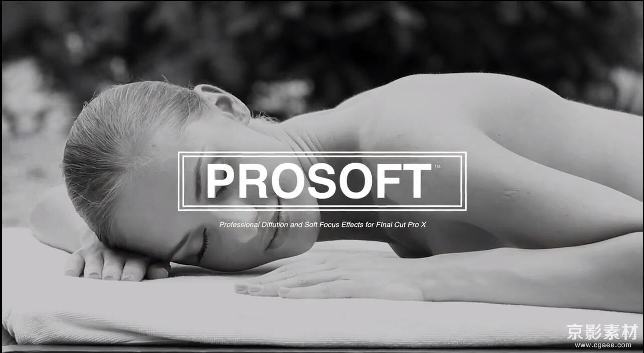 FCPX调色插件 ProSoft-30种唯美梦幻柔和朦胧调色效果