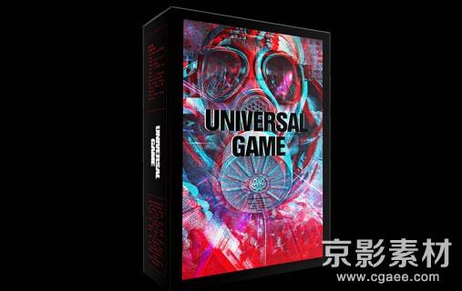 史诗游戏特效高科技界面音效素材-Universal Game Sounds