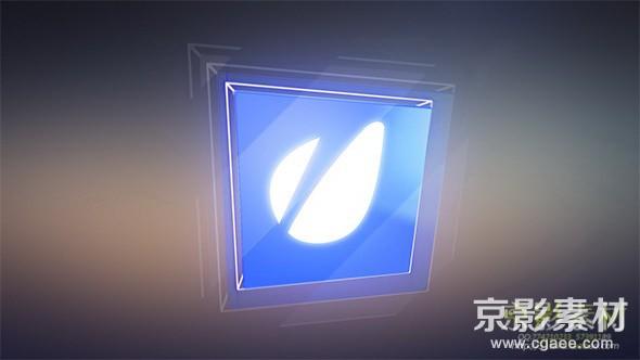 AE模板-光滑玻璃质感字幕条片头 Glossy 3D Cube Lower Thirds
