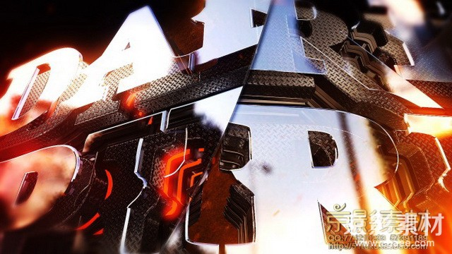 AE模板-电影史诗三维金属质感标志展示片头Dark Spirit Logo Reveal