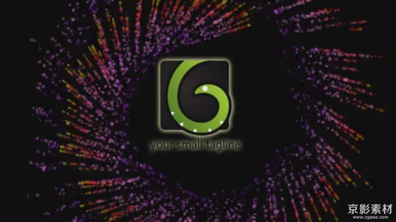 AE模板-超炫烟花Logo展示片头 bright logo