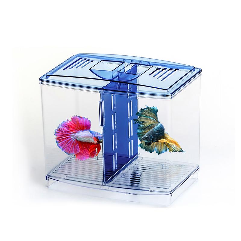 Pet Supplies Devoted Fish Aquarium Double Layer Fish Breeding Box Fish Tank Floating Double Breeding