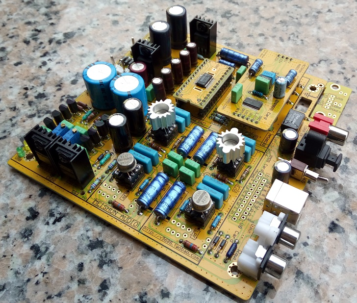 Misun PCM1794 DAC decoder discontinued@AK4495 AK4497