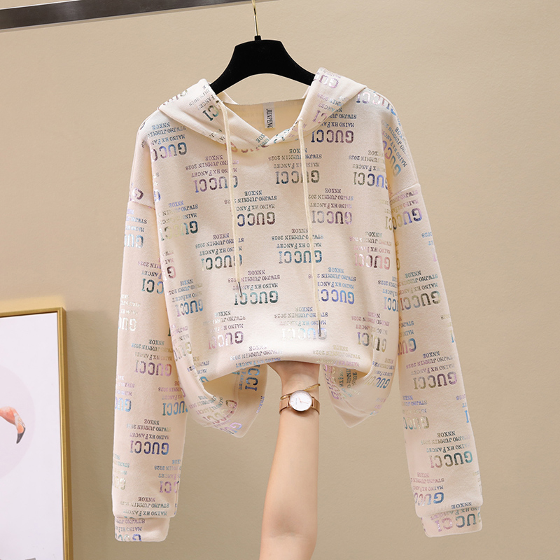 Ms. Wei Yi thin hooded ins long-sleeved 2020 new Korean version of loose spring and autumn early autumn jacket tide 45 Online shopping Bangladesh