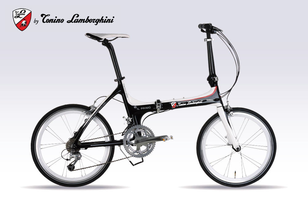 Japan Direct Mail Lamborghini Carbon Fiber 20 Inch 18 Speed Shift Folding  Bike TL 2002