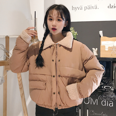 Winter Women Korean version of the BF wind loose short bread clothes padded coat warm cotton coat students jacket coat