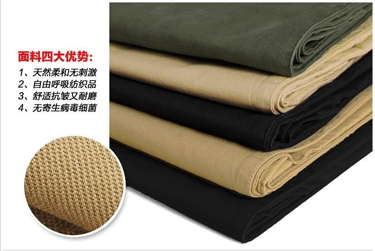 Mùa xuân và mùa hè nam quần cotton overalls quần âu mặc làm việc quần của nam giới thường quần thẳng quần quân sự