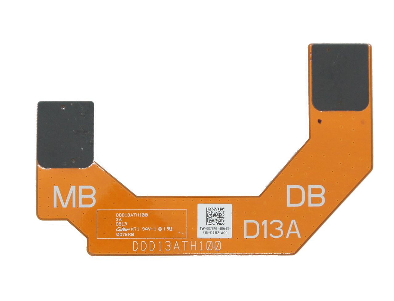 新到货50pcs 戴尔Dell Ultrabook XPS 13 L321x I/O SATA Ribbon Cable 0G76R0 DDD13ATH100 排线