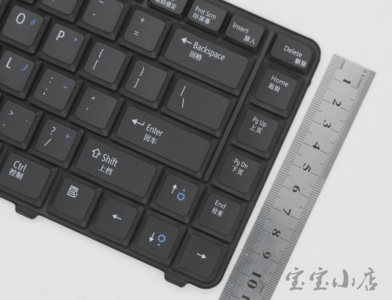 0RK683 Dell Inspiron 1435 1535 PP33L 1536 1555 PP39L PP24L keyboard Black 键盘