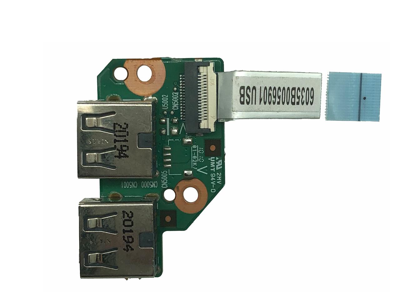 全新惠普HP DV3-4000 DV3 CQ32 G32 DM4 1000 USB接口小板 排线 6050A2317901