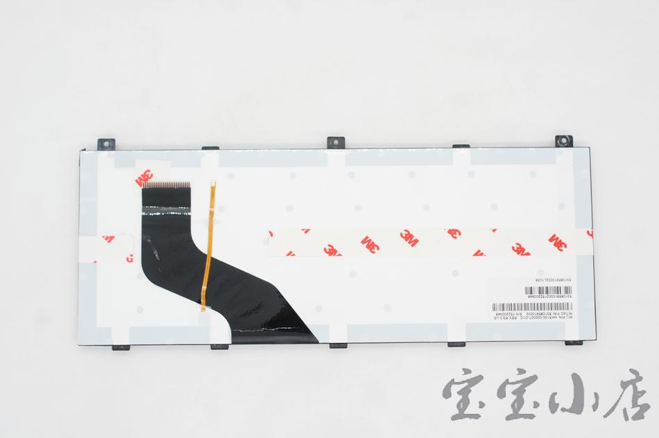 NK5100-00001T-00 P/N:531085910008 Getac S410 B300 X500 笔记本键盘