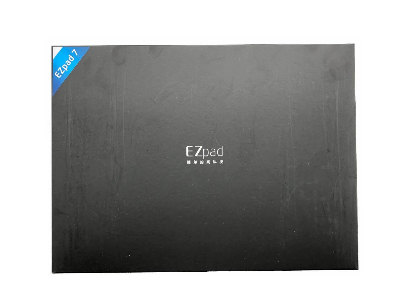 中柏Ezpad 7 平板电脑 开箱+皮套键盘 简单评测