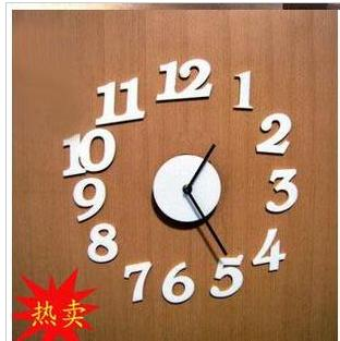 Usd 8 82 Foreign Exchange Simple Fashion Mute High End Diy Fun Clock Combination Digital Wall Wall Clock Wholesale From China Online Shopping Buy Asian Products Online From The Best Shoping Agent