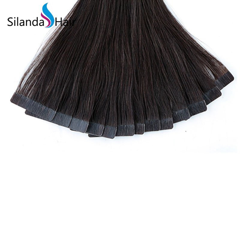 Silanda Hair #2 Luxury Remy Skin Weft