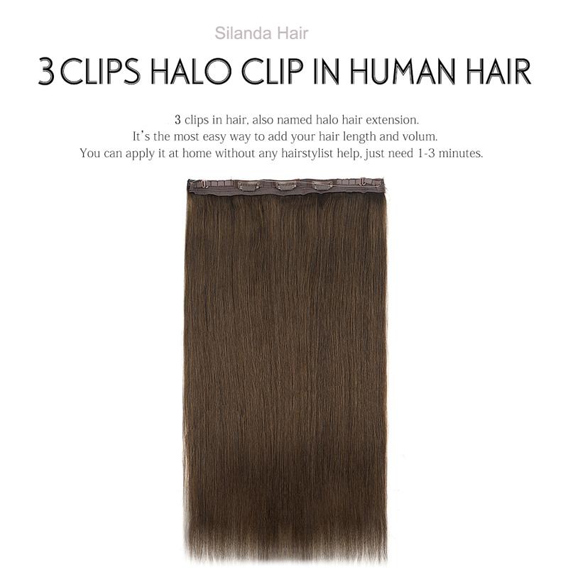 Silanda Hair #4 Premium Straight 20 Inch