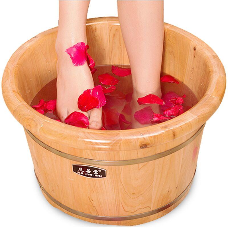 【足善堂】香柏木泡脚桶木质足浴盆