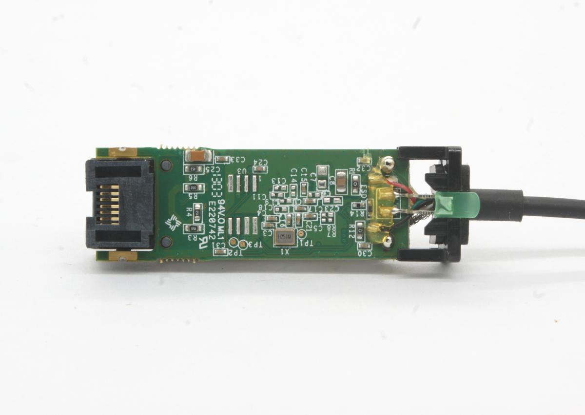 微软Microsoft Surface 1552 100M 有线USB2.0 网卡速度评测拆解 USB转RJ45 小螃蟹RTL8152 支持网络唤醒启动 Surface Pro 2 /3/4/5/6/7 RT2 Ethernet Adapter