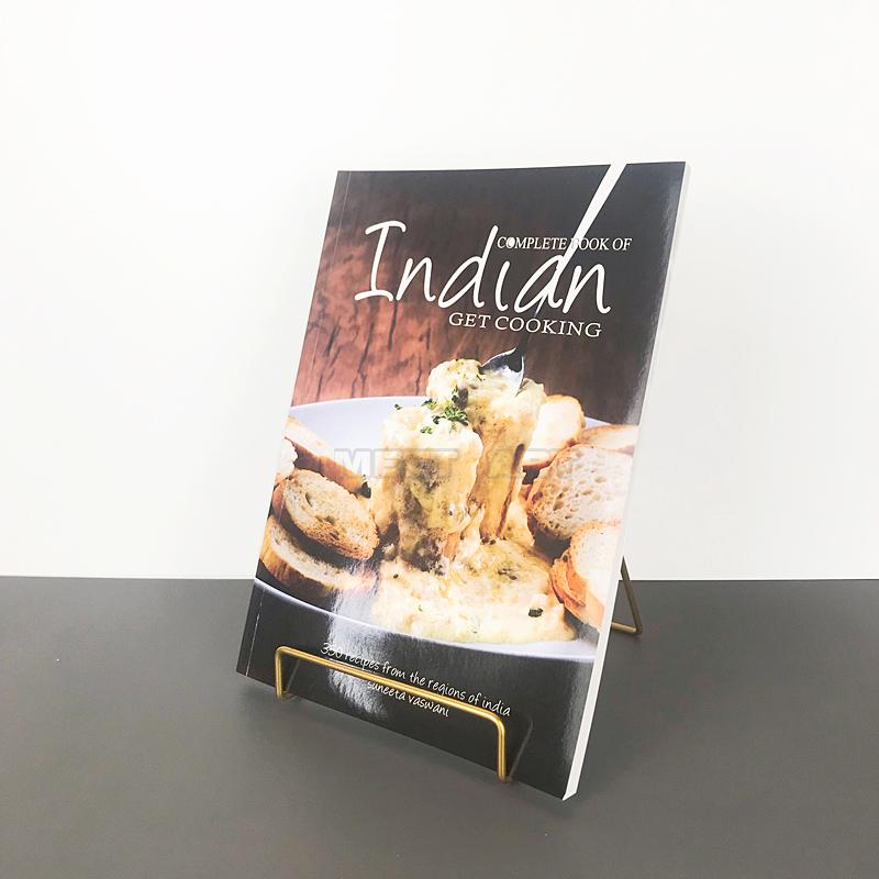 热卖样板房真书架菜谱v真书简约现代食谱软装英文饰品摆件厨房