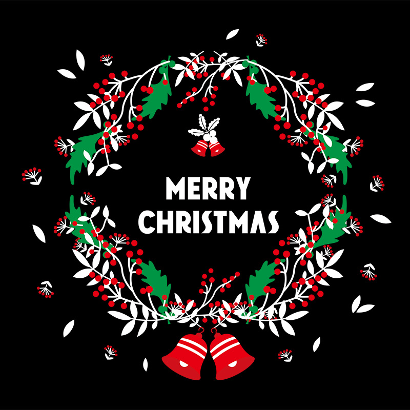 Christmas Decorations Wall Stickers Scene Layout Window Glass Stickers  Window Stickers Christmas Decoration Stickers Door Stickers