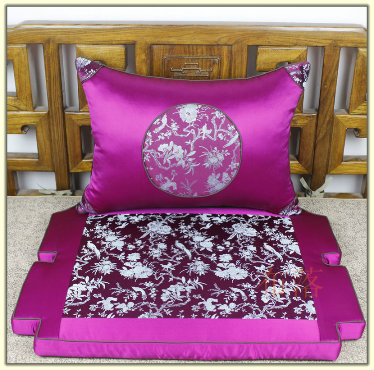 Подушка для сидений Взрывы классические пользовательского стиля – все отели сделал махагон обивка Лохан матрас династий мин и Цин официальный Cap подушки