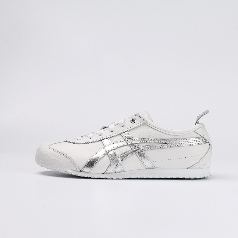 new styles 18423 8d745 Onitsuka Tiger men's shoes MEXICO 66 Platinum Silver a pedal lazy shoes  shoes d508k-0194-0193