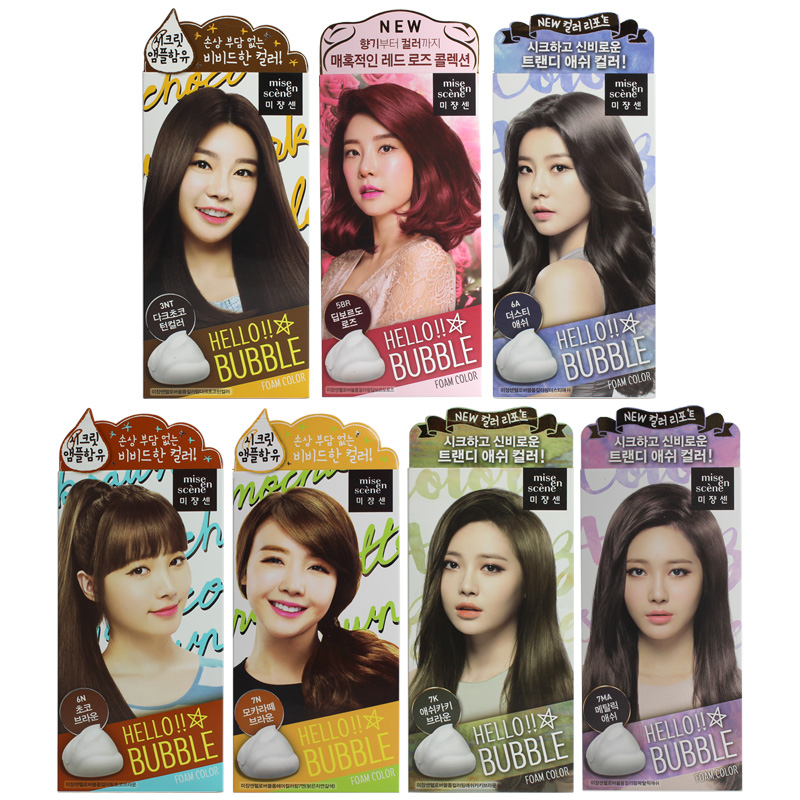 Usd 1895 South Korea Amore Beauty Fairy Foam Hair Dye Natural