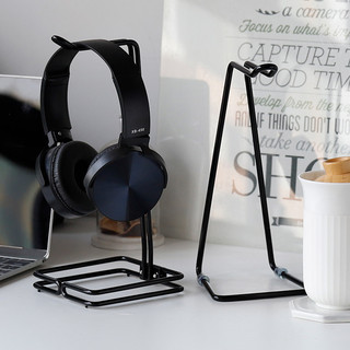 Headhered ear chair wrought iron metal display rack headset bracket computer headset bracket