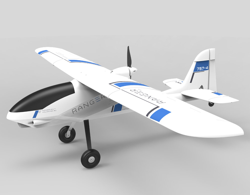 Olenska 757-4 remote-controlled entry plane fixed wing EPO large  aeromodulation aircraft glider aerial photography aircraft FPV