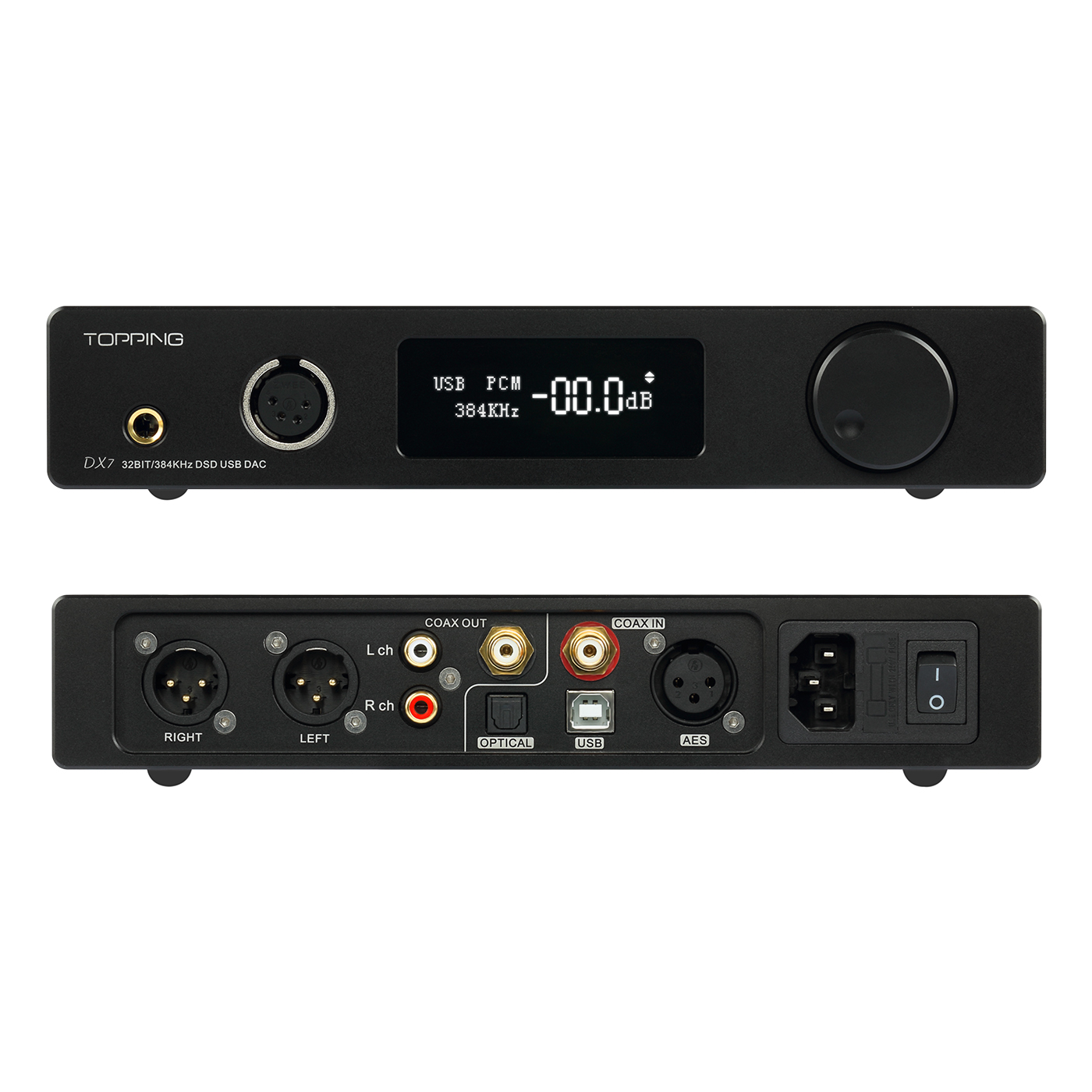 Декодер Topping billiton goods  TOPPING DX7 Hifi DSD Dac