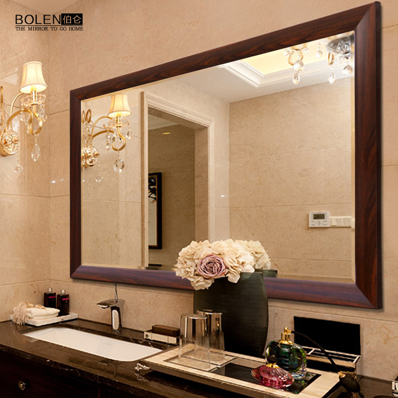 BOLEN Mirror Wall Mounted Bathroom Mirror Chinese Bathroom Mirror Bathroom  Mirror Vanity Mirror Vanity Mirror